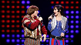 Jarrod Spector and Micaela Diamond in The Cher Show on Broadway