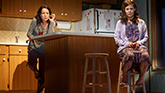 Janeane Garofalo as Lee and Lili Taylor as Bessie in Marvin's Room on Broadway.