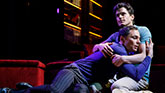 Matt Bomer and Jim Parsons in The Boys In The Band on Broadway