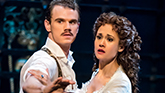 Jay Armstrong Johnson and Ali Ewoldt in The Phantom Of The Opera on Broadway