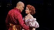 Ken Watanabe as the King of Siam & Kelli O'Hara as Anna in 'The King and I'