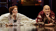 Kelli O'Hara as Anna & Ken Watanabe as the King of Siam in 'The King and I'