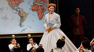 Jake Lucas as Lewis, Kelli O'Hara as Anna & the cast of 'The King and I'