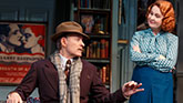 Kevin Kline as Garry and Kate Burton as Liz in Present Laughter