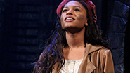 Brennyn Lark as Eponine in 'Les Miserables'