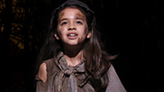 Young Cosette in 'Les Miserables'