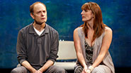 Julia Murney & David Hyde Pierce in The Landing.