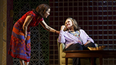 Lili Taylor as Bessie and Celia Weston as Aunt Ruth in Marvin's Room on Broadway.
