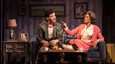 Michael Urie and Mercedes Ruehl in Torch Song on Broadway