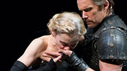 Anne-Marie Duff as Lady Macbeth and Ethan Hawke as Macbeth in Macbeth