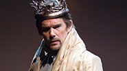 Ethan Hawke as Macbeth in Macbeth.
