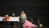 Madison Ferris as Laura and Sally Field as Amanda in The Glass Menagerie on Broadway