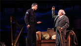 Mark Ruffalo as Victor Franz and Danny DeVito as Gregory Solomon in The Price on Broadway