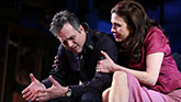 Mark Ruffalo as Victor Franz and Jessica Hecht as Esther Franz in The Price on Broadway