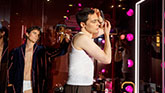 Matt Bomer and Jim Parsons  In The Band on Broadway