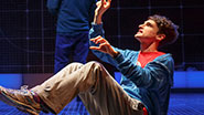 Rosie Benton as Siobhan and Tyler Lea as Christopher in 'The Curious Incident of the Dog in the Night'