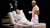 Nathan lane and Nathan Stewart Jarrett In Angels In America on Broadway