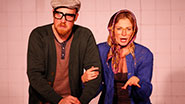 Margaret Copeland and Kevin James Doyle in How 2 B a New Yorker.