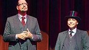 Penn and Teller in 'Penn & Teller on Broadway'