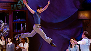 Robert Fairchild as Jerry Mulligan and the cast of 'An American in Paris'