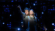 Jason Ralph as Boy and Nicole Lowrance as Molly  in Peter and the Starcatcher.