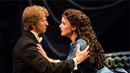 Jeremy Hays as Raoul and Mary Michael Patterson as Christine in Phantom of the Opera.