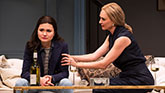 Uma Thurman as Chloe and Phillipa Soo as Rebecca in The Parisian Woman on Broadway.