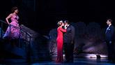 Karen Ziemba, Emily Skinner, Chuck Cooper and Tony Yazbeck in Prince Of Broadway