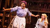 Bryonha Marie Parham and Kaley Ann Voorhees in Prince Of Broadway