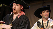 A scene from the off-Broadway musical The Greatest Pirate Story (N)Ever Told.