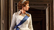 Helen Mirren as Elizabeth II & Elizabeth Teeter as Young Elizabeth in The Audience