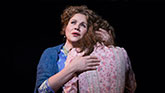 Renee Fleming and Jessie Mueller in Carousel on Broadway.
