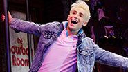 Frankie J. Grande as Franz in 'Rock of Ages'