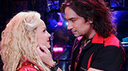 Lauren Zakrin as Sherrie and Constantine Maroulis as Drew in 'Rock of Ages'