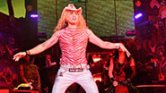 Chester See as Stacee Jaxx and the cast of 'Rock of Ages'