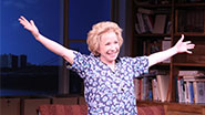 Debra Jo Rupp at the opening night of  Becoming Dr. Ruth.