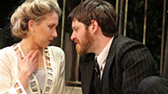 Nina Arianda as Helena Altman & Michael Esper as Béla Hoyos in 'Tales From Red Vienna'