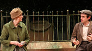 Kathleen Chalfant as Edda Schmidt & Michael Goldsmith as Rudy Zuckermaier in 'Tales From Red Vienna'