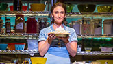 Sara Bareilles as Jenna in Waitress on Broadway.