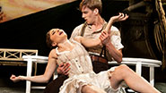 A scene from Matthew Bourne's Sleeping Beauty.