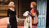 Sherie Rene Scott as Atalanta and Mary Testa as Mrs. Dragonetti in The Portuguese Kid.