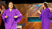 A scene from off-Broadway's Sistas The Musical.