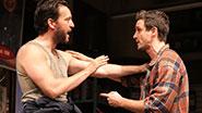 John Pollono as Frank & James Ransone as Packie in Small Engine Repair.