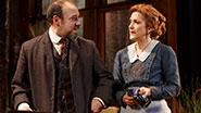 Danny Burstein as Max Hohmann & Victoria Clark as Clarissa Hohmann in The Snow Geese.