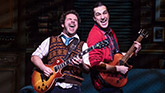 Justin Collette and Jonathan Gould in School of Rock – The Musical