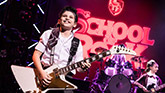 Zachary Zwelling and Rachel Katzke in School of Rock – The Musical