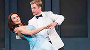 Derek Hough and Laura Benanti in 'The New York Spring Spectacular'