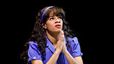 Storm Lever as Duckling Donna in Summer, The Donna Summer Musical on Broadway