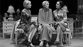 Alison Pill, Glenda Jackson and Laurie Metcalf in Three Tall Women on Broadway.