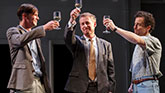 Toby Schmitz, Richard Roxburgh and Chris Ryan in The Present on Broadway